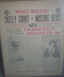 Skelly Court of Missing Heirs Bulletin